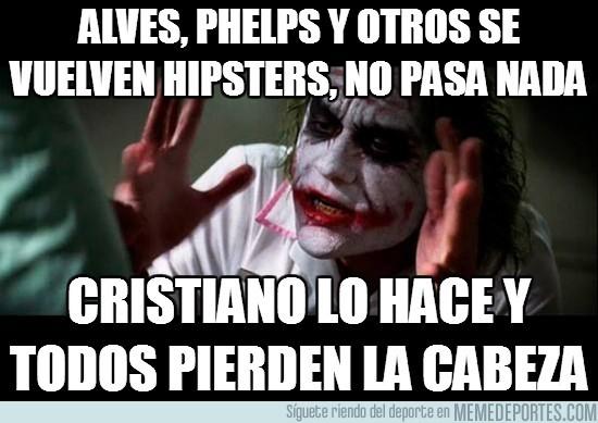 149642 - Alves, Phelps y otros se vuelven hipsters, no pasa nada
