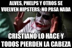 Enlace a Alves, Phelps y otros se vuelven hipsters, no pasa nada
