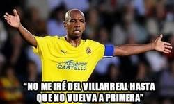 Enlace a ''No me iré del Villarreal hasta que no vuelva a estar en primera''