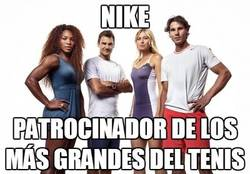 Enlace a En el tenis, Nike se hace con todos