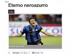 Enlace a Javier Zanetti y otro año de emociones