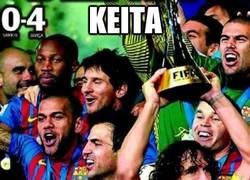 Enlace a Keita, cuánta alegría