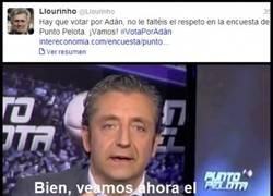 Enlace a @Llourinho trolleando a PuntoPelota