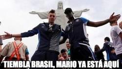 Enlace a Tiembla Brasil, Mario está aquí