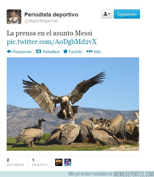 150199 - La prensa con Messi por @deportesperiod