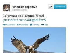 Enlace a La prensa con Messi por @deportesperiod