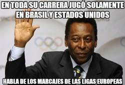 Enlace a En toda su carrera jugó solamente en Brasil y Estados Unidos