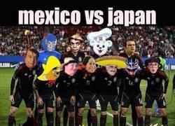 Enlace a Mexico vs Japón