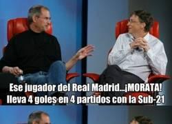 Enlace a Bromeando sobre el puesto de Morata en el Real Madrid