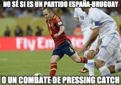 Enlace a No sé si es un partido España-Uruguay