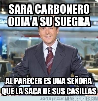 152801 - Sara Carbonero odia a su suegra
