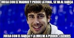 Enlace a Juega con el Madrid y pierde la final, se va al Barça
