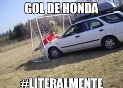 Enlace a Gol de Honda #chistaco