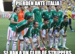 Enlace a Pierden ante Italia