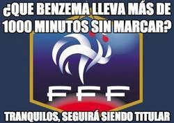 Enlace a ¿Que Benzema lleva más de 1000 minutos sin marcar?