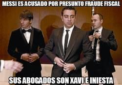 Enlace a Messi es acusado por presunto fraude fiscal