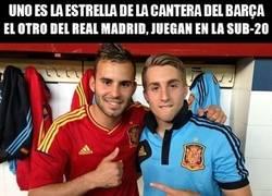 Enlace a Canteranos del Madrid y Barcelona, hay química