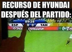 Enlace a Recurso de Hyundai después del partido