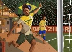 Enlace a Neymar, el antes y el después