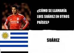 Enlace a Suárez en diferentes países