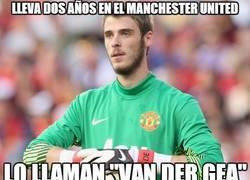 Enlace a Lleva dos años en el Manchester United
