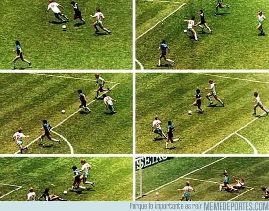 154533 - Hoy es el aniversario de uno de los mejores goles de la historia