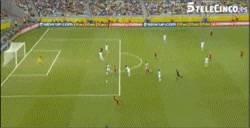 Enlace a GIF: Golazo de el niño Torres de España ante Nigeria