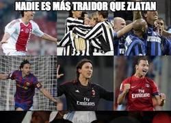 Enlace a Nadie es más traidor que Zlatan