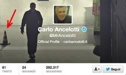 Enlace a Arbeloa es un pelota, el primero en dar la bienvenida a Ancelotti por @puntopalote