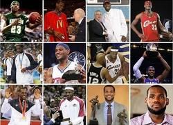 Enlace a El historial de LeBron James en una imagen