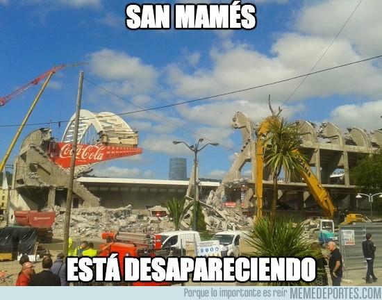 155758 - San Mamés, ya queda poco :(