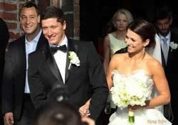 Enlace a Lewandowski en su Matrimonio. ¡Felicidades!