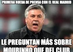 Enlace a Tiene su primera rueda de prensa con el Real Madrid