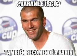Enlace a Zidane falla a veces, pero también la clava