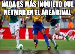 Enlace a Nada es más inquieto que Neymar en el área rival