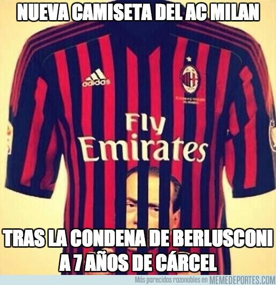 156143 - La nueva camiseta del AC Milan