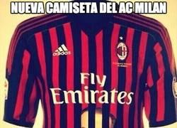 Enlace a La nueva camiseta del AC Milan