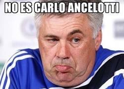 Enlace a No es Carlo Ancelotti