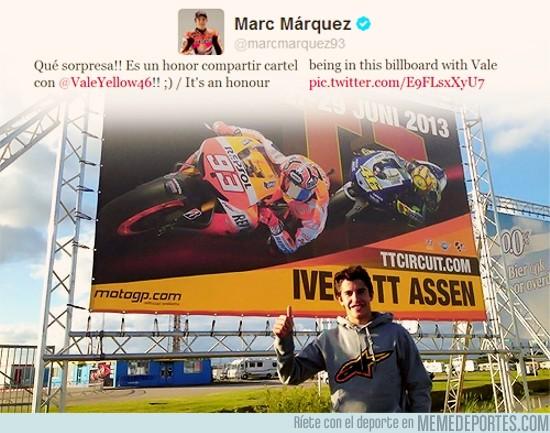 156676 - Compartir carteles con los más grandes, Márquez sabe hacerlo