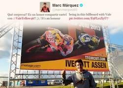 Enlace a Compartir carteles con los más grandes, Márquez sabe hacerlo