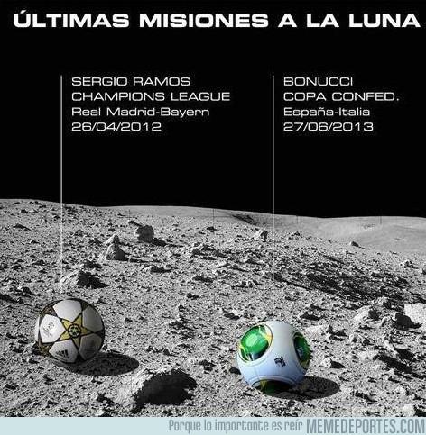157509 - La NASA detecta el balón de Bonucci