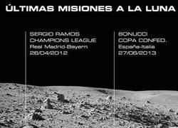 Enlace a La NASA detecta el balón de Bonucci