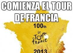 Enlace a Comienza el Tour de Francia