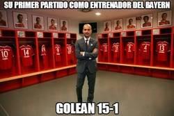 Enlace a Su primer partido como entrenador del Bayern