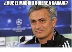 Enlace a ¿Que el Madrid quiere a Cavani?