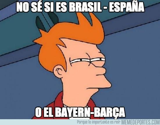 158399 - No sé si es Brasil - España