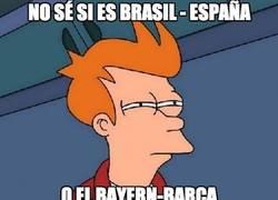 Enlace a No sé si es Brasil - España