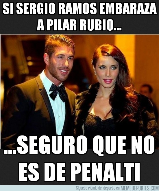 159439 - Si Sergio Ramos embaraza a Pilar Rubio...
