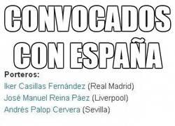 Enlace a Convocados con España