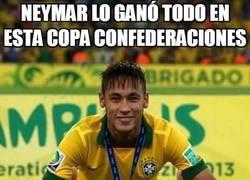 Enlace a Neymar lo ganó todo en esta Copa Confederaciones